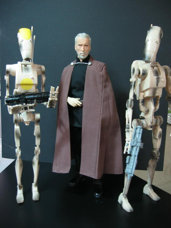 "Count Dooku Custom 12"" IMG_1517"