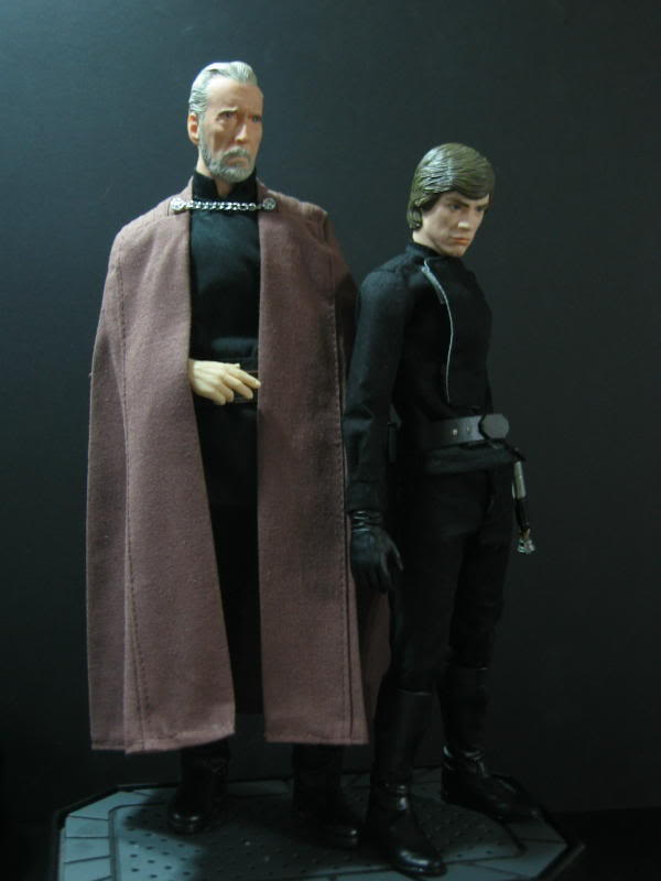 "Count Dooku Custom 12"" IMG_1525"