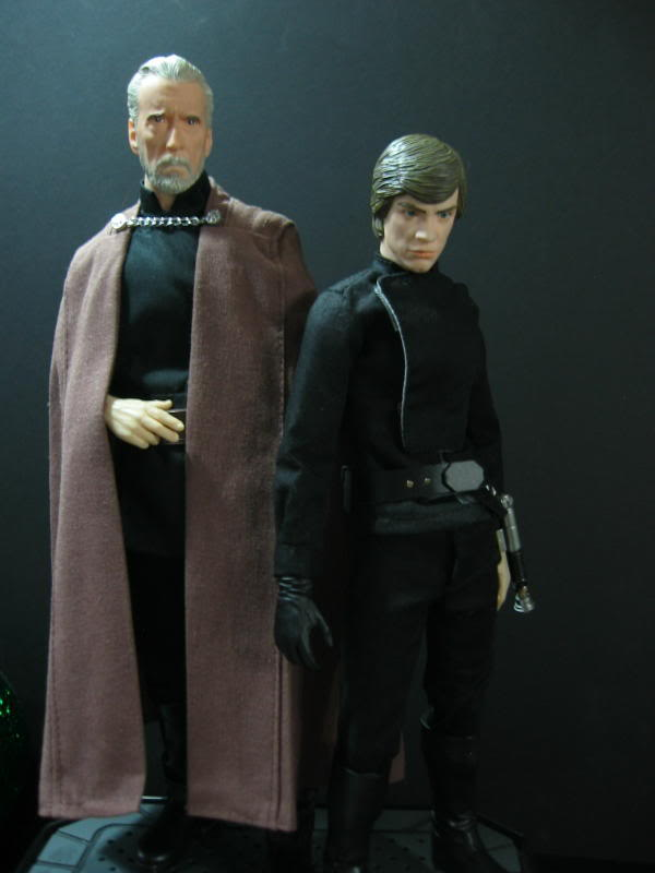 "Count Dooku Custom 12"" IMG_1527"