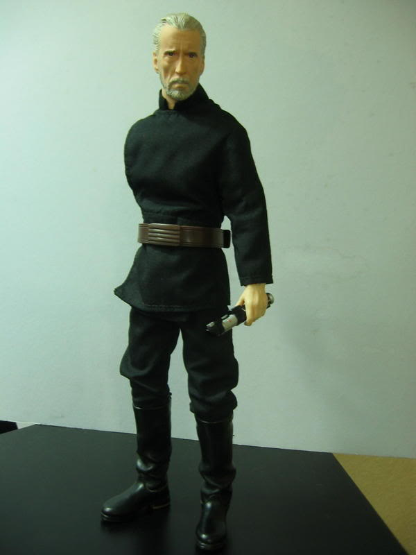 "Count Dooku Custom 12"" Ha10"