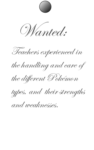 WANTED: Experienced teachers, apply now!! WANTED