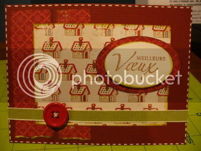Mes derniere cartes :) et mes ti pages :) 2009-11-01030
