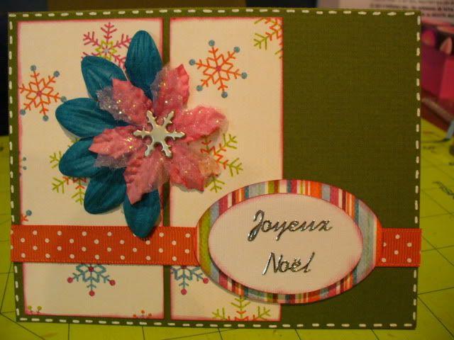 Mes derniere cartes :) et mes ti pages :) 2009-11-01039