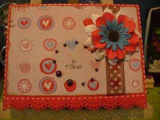 Mes derniere cartes :) et mes ti pages :) 2009-11-04086