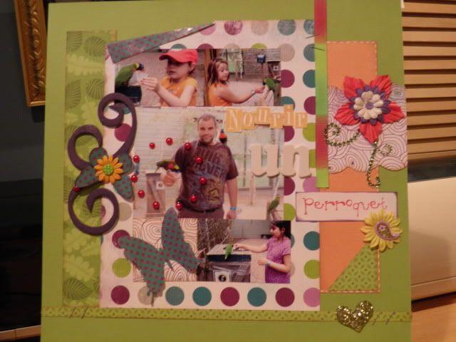 Mes cartes et pages faites cette été :) P7270007