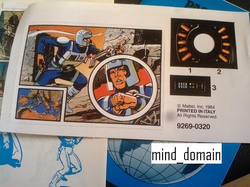 BIG JIM (Mattel) 1972 - Page 2 Globalcommanderpass