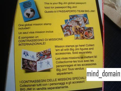BIG JIM (Mattel) 1972 - Page 2 Passportbox
