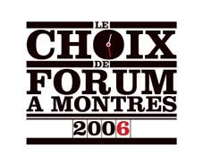 FAM - Election montres de l'année 2006- Les gagnantes ForumLogochoix2006