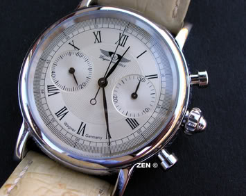 Hermes Arceau Chronograph Automatic Wagner1face