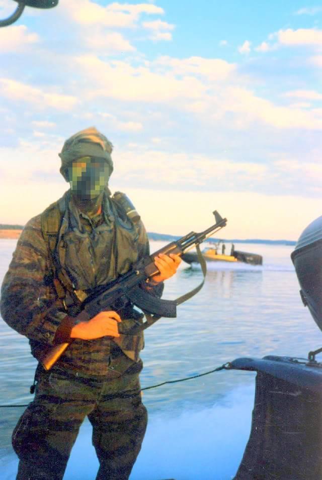 Tiger Stripe Modified Uniform Blouse Seal-484