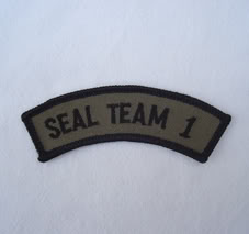 My Navy SEAL patch collection Seal_team_1_tab