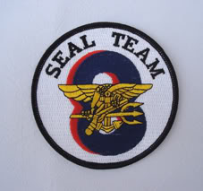 My Navy SEAL patch collection Seal_team_8_2