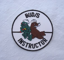 My Navy SEAL patch collection Buds_instructor