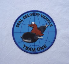 My Navy SEAL patch collection Sdv_team_one
