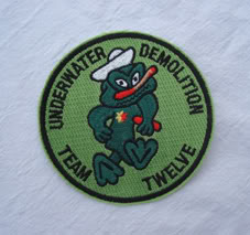 My Navy SEAL patch collection Udt_12_2