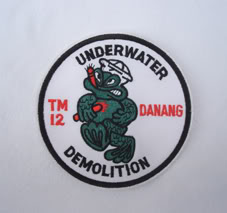 My Navy SEAL patch collection Udt_12_3
