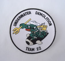 My Navy SEAL patch collection Udt_22