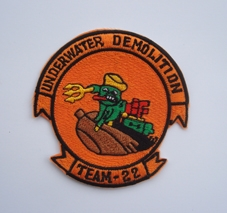 My Navy SEAL patch collection Udt_22_2