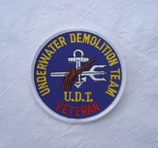 My Navy SEAL patch collection Udt_veteran