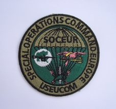 My Navy SEAL patch collection Soceur