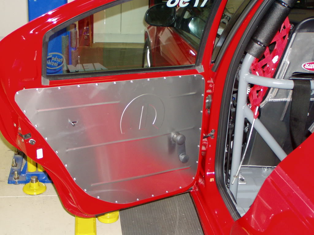 Our little Red Racer. Reardoorpanelsinstalled006
