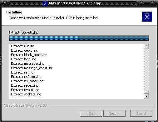 Tutorial instalar Amx Mod X Instalaciondr5
