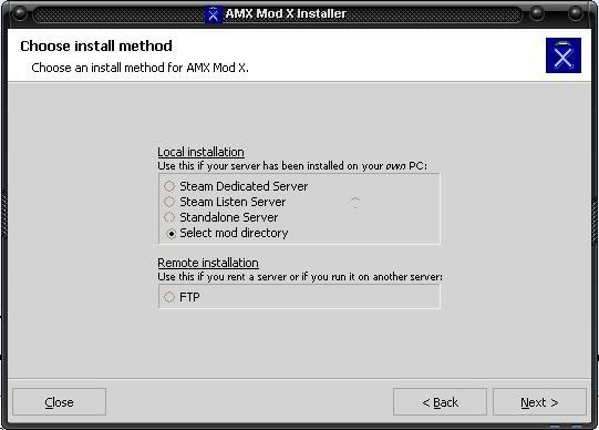 Tutorial instalar Amx Mod X Selectmodnw9
