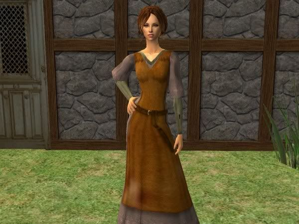 Hunter's Julia in an acting role Juliabodyshot
