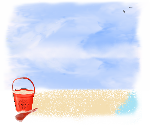 Good Morning/Afternoon!(recipes) Beachbackground-carol