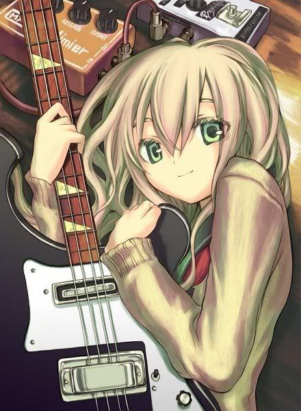 Imagens Dos Personagens Animegirlwitguitar