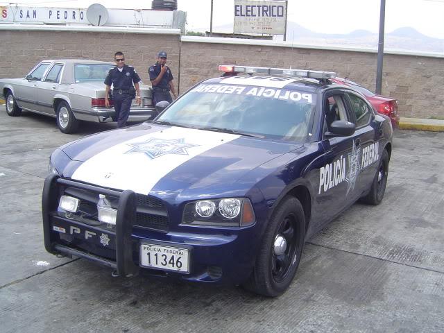 Policia Federal y Policias Estatales Mexico DSC09222