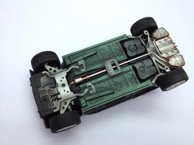 Mini Cooper S Fujimi Checker Edition 1/24 IMG_7059
