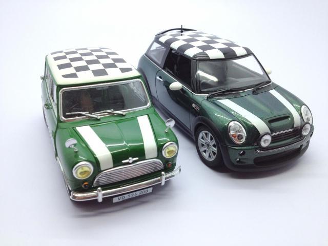 Mini Cooper S Fujimi Checker Edition 1/24 IMG_7139