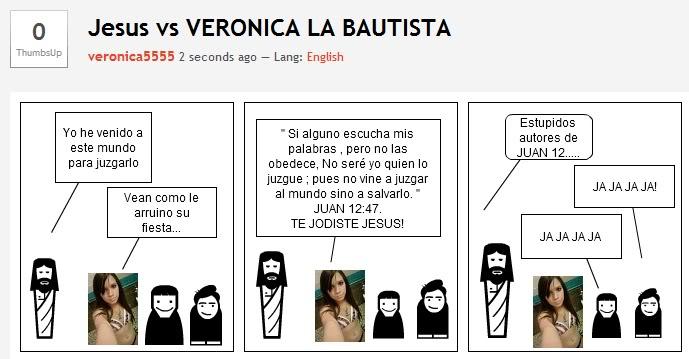 JUAN EL BAUTISTA.   A Continuation Thread. - Página 3 Veronicabautista