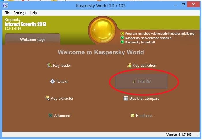 Reset trial kis 2013 for windows 8 (cập nhật 30/9/2012)- phần mềm giúp dùng kis mãi mãi!  1-72