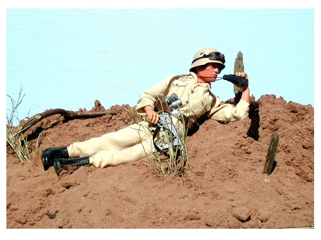 What's your most Most favorite Action Man, Gi Joe or 1/6 Scale photos that you've taken? Dakdesert2