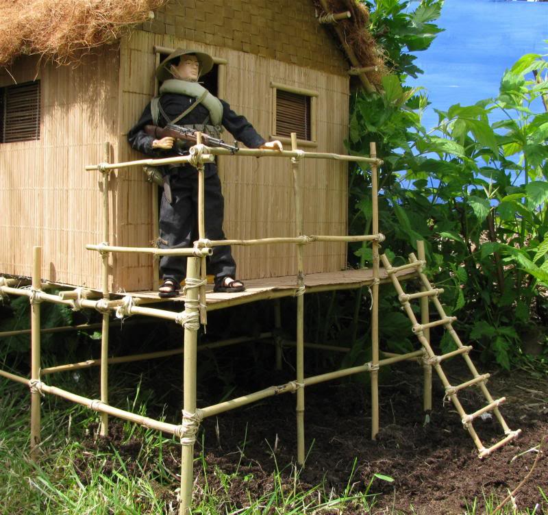 It started with a grunt: bamboo house Hoochie10