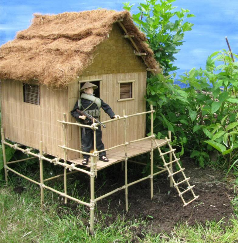 It started with a grunt: bamboo house Hoochie3