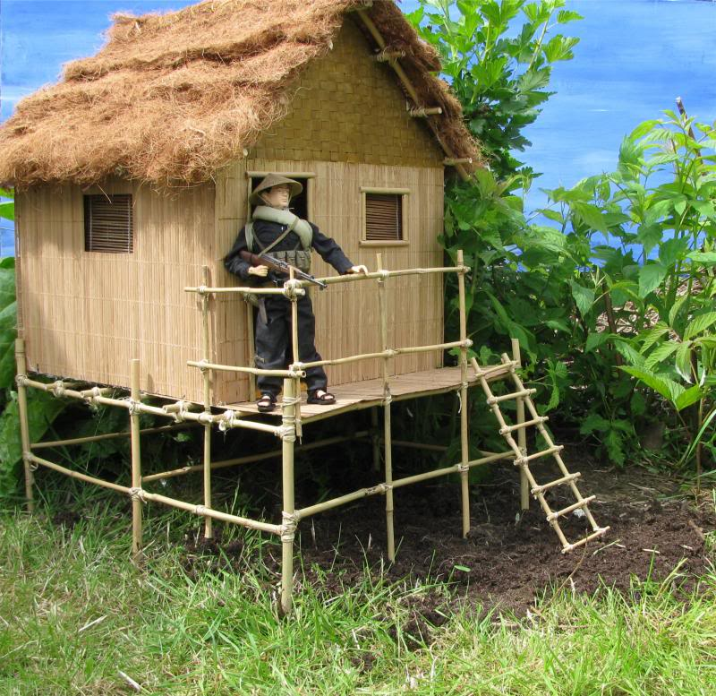 It started with a grunt: bamboo house Hoochie4