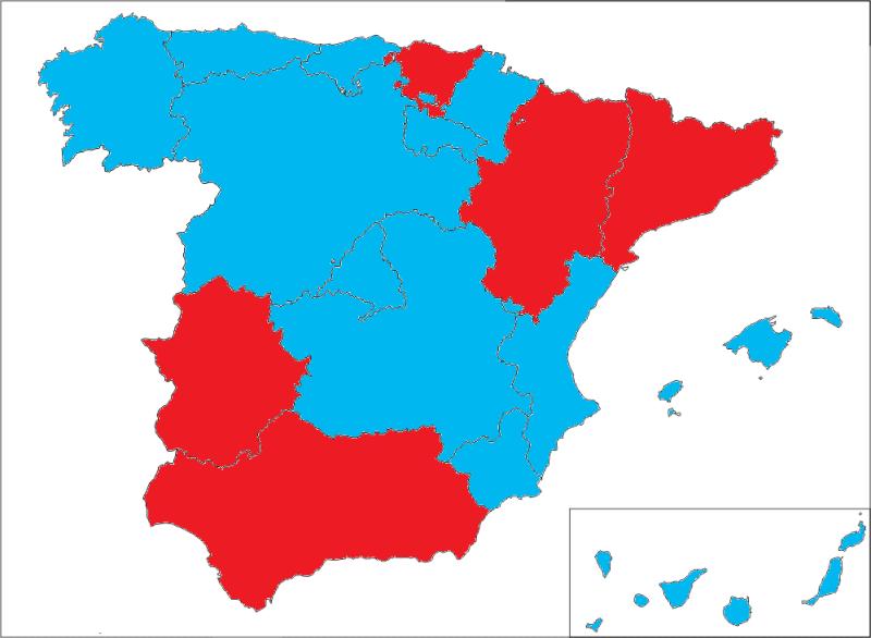 Nuevo Mapa Político Autonómico Mapadeautonomas-1