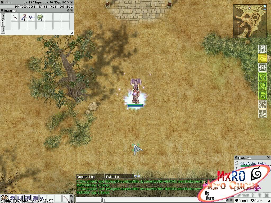 ¿Cómo llegar a los nuevos castles de WoE 2.0? ScreenSuperMxRO002
