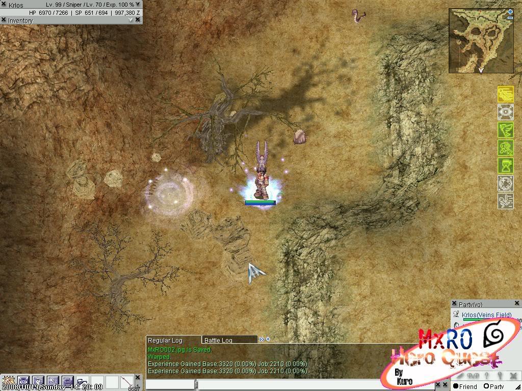 ¿Cómo llegar a los nuevos castles de WoE 2.0? ScreenSuperMxRO003