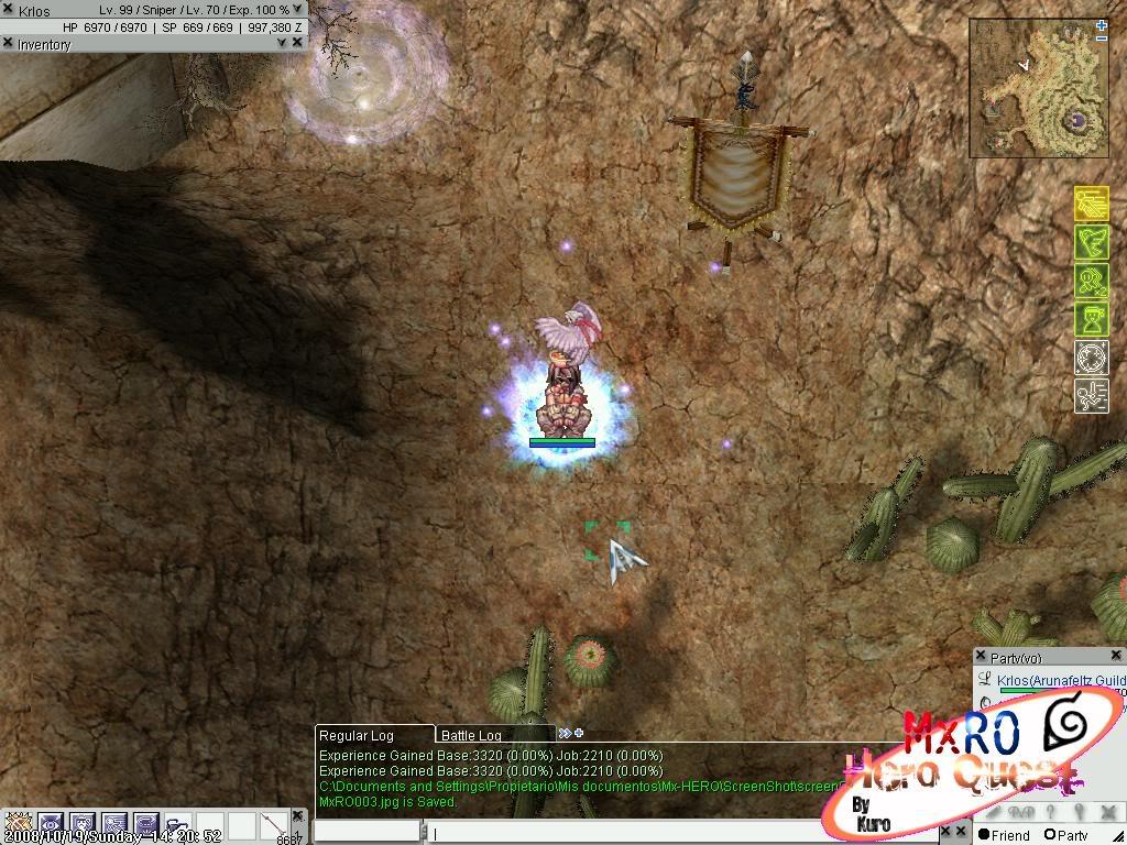 ¿Cómo llegar a los nuevos castles de WoE 2.0? ScreenSuperMxRO004