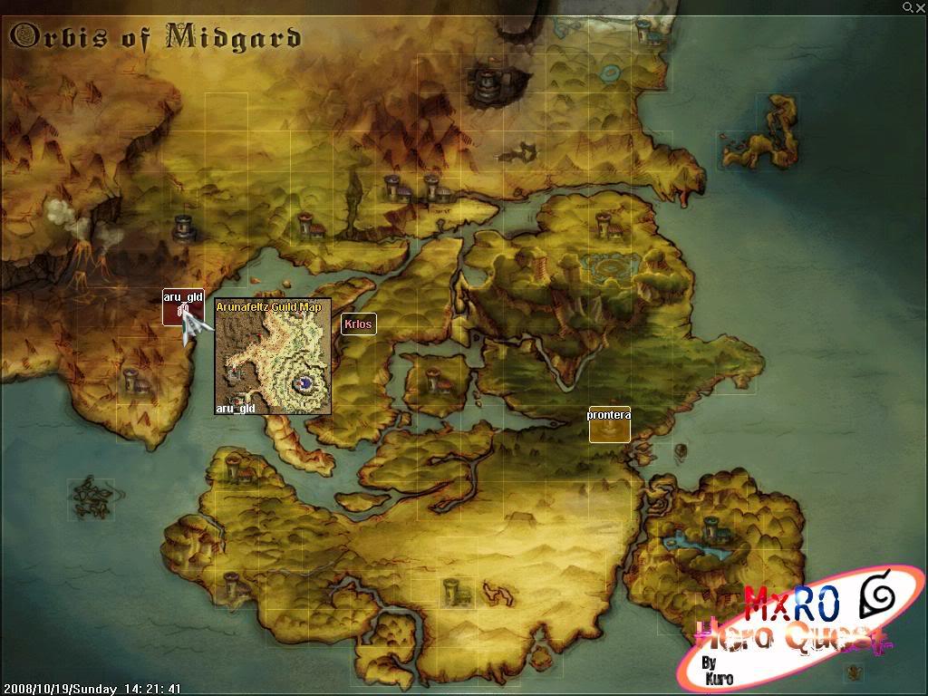 ¿Cómo llegar a los nuevos castles de WoE 2.0? ScreenSuperMxRO005