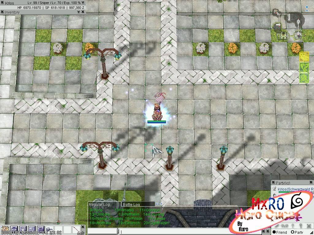 ¿Cómo llegar a los nuevos castles de WoE 2.0? ScreenSuperMxRO008