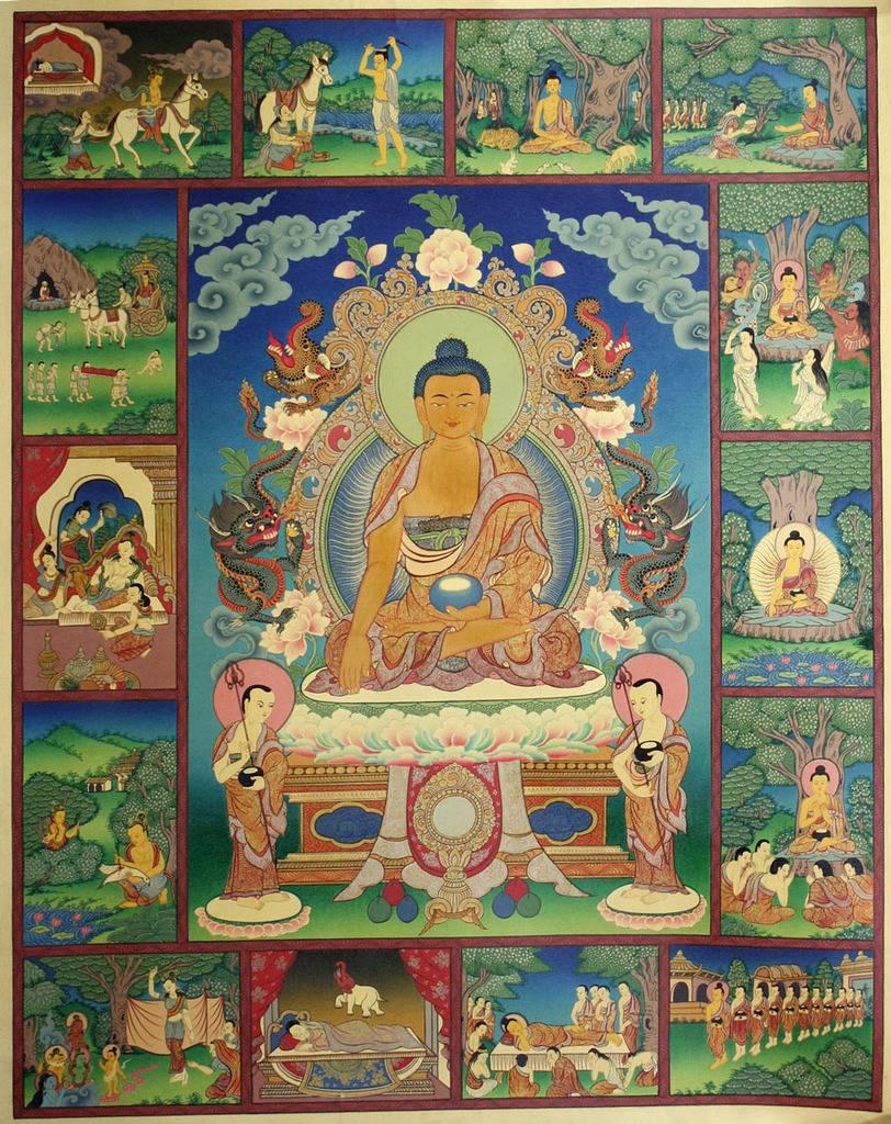 Arya Sri Lalitavistarah Maha Vaipulya Nama Dharmaparyaya Mahayana Suttram 11-Buddha%20life%20story-b