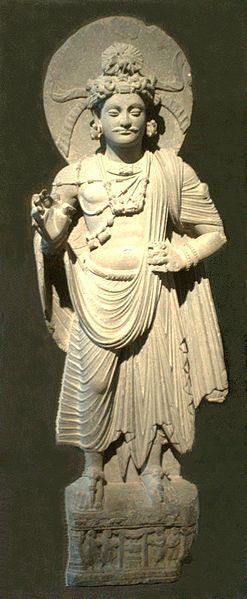 Arya Sri Lalitavistarah Maha Vaipulya Nama Dharmaparyaya Mahayana Suttram 247px-Standing_Bodhisattva_Gandhara_Musee_Guimet