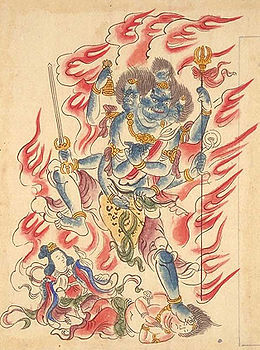 Ārya Gambhīra Samdhinirmocana Nama Mahayana Sūtra Tīkā 260px-Gozanze_Myo_o