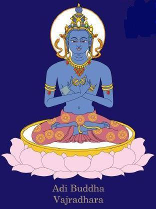 Sarva Tathāgata Mahāyānā Vajra Usnisa Abhisamaya Mahā Kalpa Rājā Yoga Tantra Sutra ADI%20VAJRADHARA