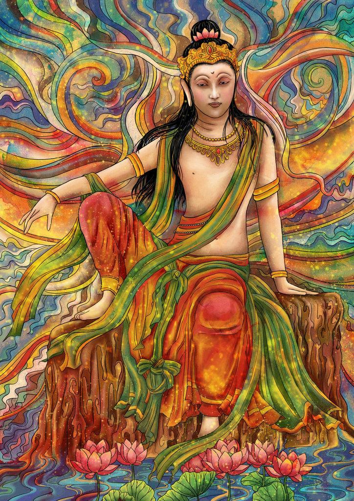 Ārya Gambhīra Samdhinirmocana Nama Mahayana Sūtra Tīkā Arya%20Avalokitesvara